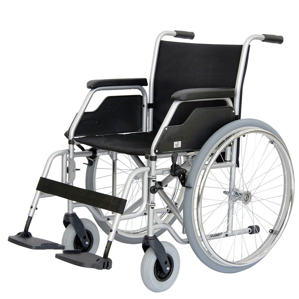 תמונה של כסא גלגלים מתקפל מוסדי
