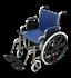 תמונה של כסא גלגלים מתקפל סיעודי