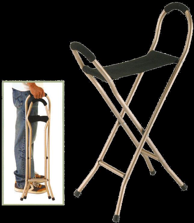 תמונה של מקל כסא 4 רגליים