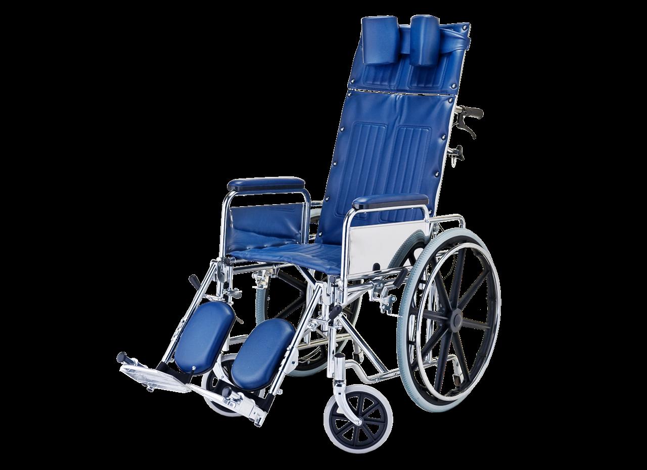 תמונה של כסא גלגלים ריקליינר