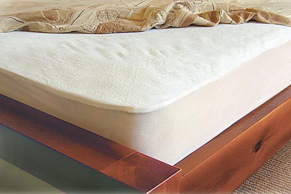 תמונה של מגן מזרון מגבת שקט מיטת יחיד